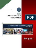 Undergraduates Handbook (2016)