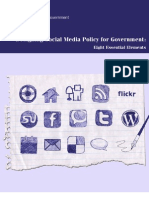 Designing Social Media Policy for Government