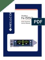 Nellcor N-550 - Service Manual