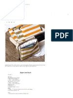 Zipper Card Pouch - Free Sew Pattern _ Craft Passion - Page 2 of 2