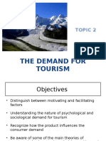 2 the Demand for Tourism