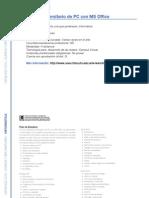 Informática - Operador Universitario de PC Con MS Office