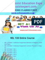 REL 133 Assist Education Expert/rel133assistexpert.com