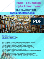 PRG 421 MART Education Expert/prg421mart.com