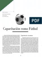 Capacitacion Como Futbol