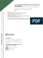 MANAGEMENT Y EMPRESAS - Introducción a la Responsabilidad Social Empresaria (RSE) y a la Sostenibilidad