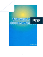 The Need for God Knowledge