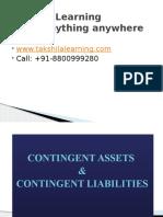 Contingent Assets,Liabilities