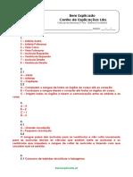A.4 Transporte de Nutrientes e Oxigénio Teste Diagnóstico 1 Soluções