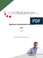 Load Balancer Administration v 8