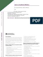 SALUD Y MEDICINA - Curso de Posgrado en Auditoría Médica