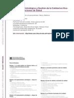 SALUD Y MEDICINA - Planeamiento Estratégico y Gestión de la Calidad en Hospitales e Instituciones de Salud