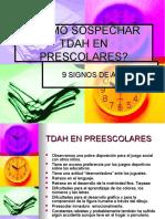 Cómo Sospechar Tdah en Prescolares