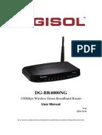 Dgbr4000ng Manual