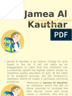 Jamea Al Kauthar - Best Institute of Islamic Education