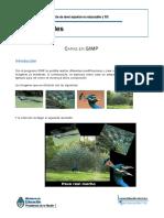 Capas en GIMP
