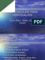 Antikoagulasi Pada Hemodialisis