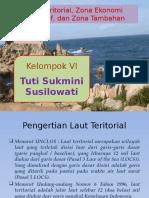 Laut Teritorial, Zona Ekonomi Eksklusif, Dan Zona Tambahan