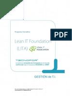 Temario Lean IT Foundation