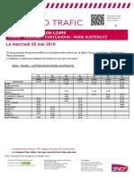 Tours-Vendome-chateaudun-paris 25 Mai 2016