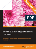 Moodle 3.x Teaching Techniques - Third Edition - Sample Chapter