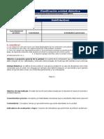 Planificación Unidad Didáctica 2 segundo ciclo básico