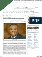 Dictature Du G7-SDF Bis_ Il Faut Libérer Le Peuple Du SDF - Par Jean de Dieu Momo