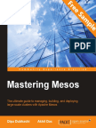 Mastering Mesos - Sample Chapter