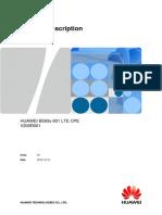 LTE CPE Product Description B593s-931 01 Engilsh