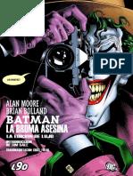 Batman La Broma Asesina