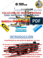 Maquinas perforadoras - Diego Barzola Domnguez - FAIM - UNCP