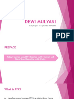 Dewi Mulyani Daily Report of Sept 11th 2015