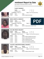 Peoria County Jail booking sheet 5/24/2016