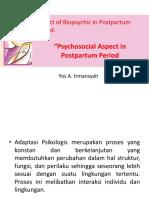 Psikososial Postpartum psikologi