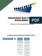 Organisasi Dan Fungsi Manajemen_mmr Umy_rs Pku II