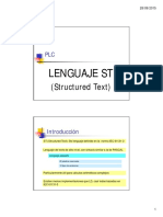 Clase 11 - Lenguaje ST