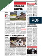 Diário do Pará - Lixo no Portal