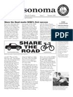 ma Newsletter, 1, Sonoma County Bicycle Coalition