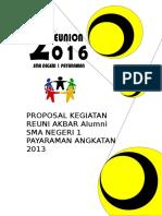 Proposal Reuni Akbar