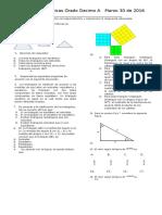 Examen Decimo Primer Periodo 2015