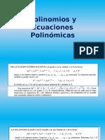 Polinomios y Ecuaciones Polinómicas