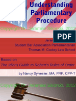 Understanding Parliamentary Procedure