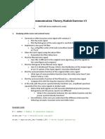 Matlab Exercise 3