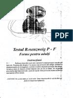 Testul Rosenzweig P-f