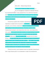 portfolio assignment 10 - this i believe essay revision