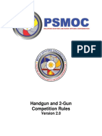 Final PSMOC Handgun and 2 Gun Rules Version 2.0