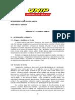 Apostila 01 - Teoria Do Estudo Do Direito (19 Pgs)