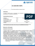 Boletim Técnico Agecom 2100ps