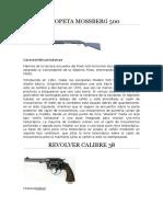 Escopeta Mossberg 500 Trabajo Armas