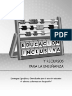 Estrategias Especificas Diversificadas Atencion Educativa Impresion